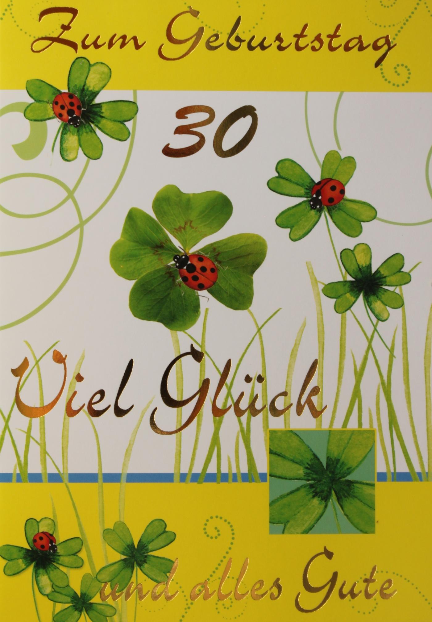 M180 30 Geburtstag Gluckwunschkarten Grosshandel