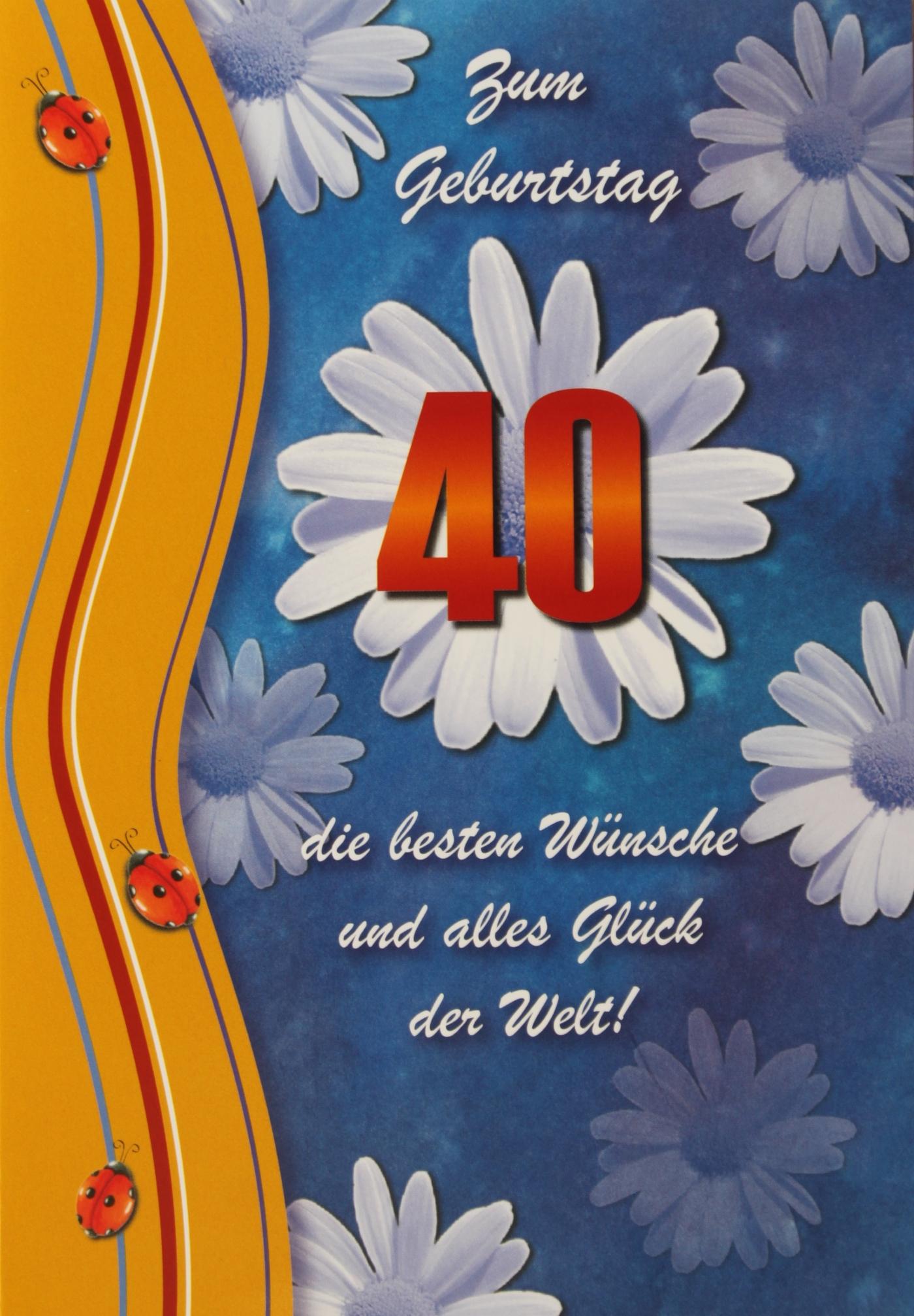 Text 40. Geburtstag