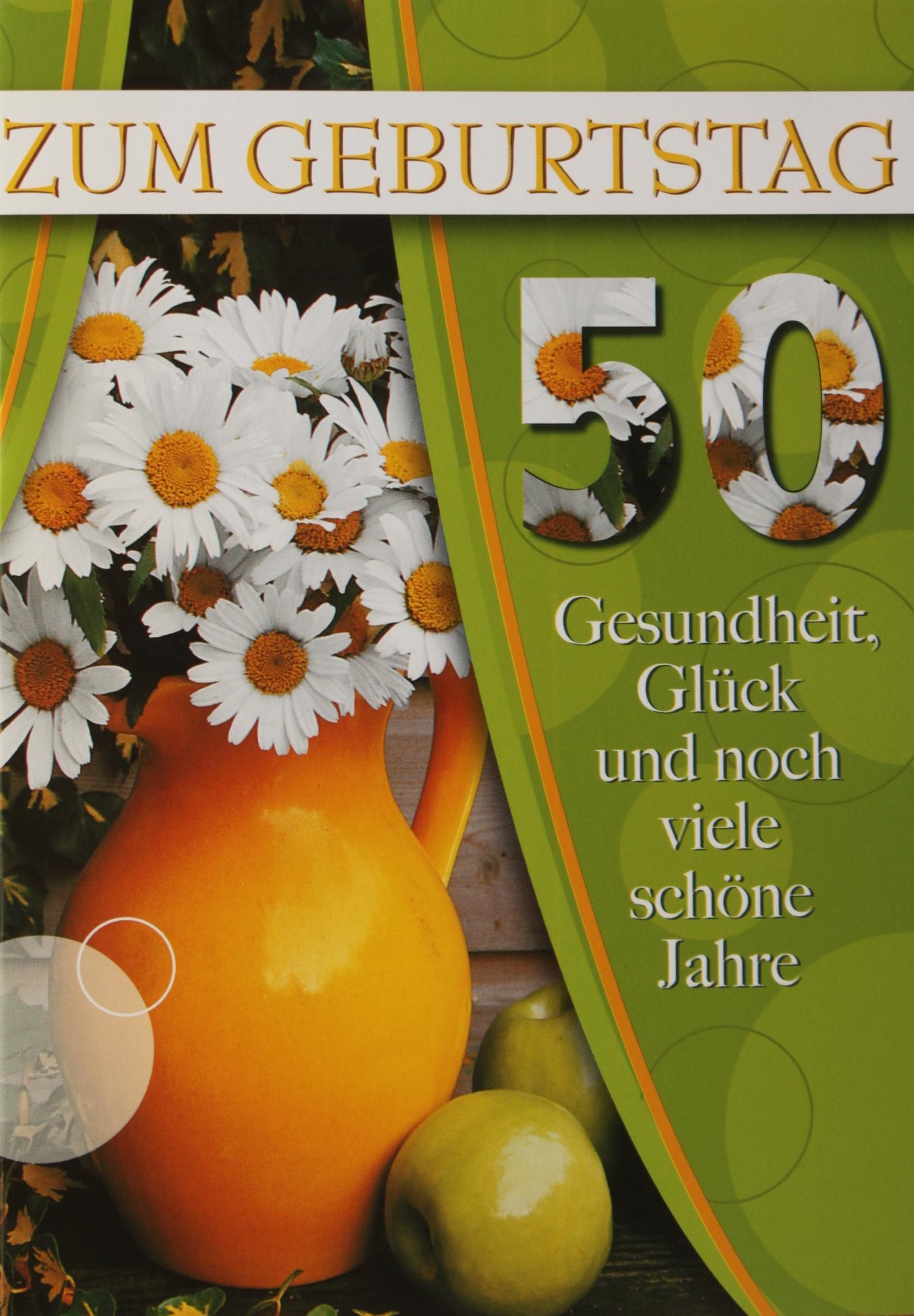 M180 50. Geburtstag - Glückwunschkarten Großhandel
